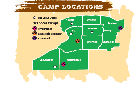 Camp Locations