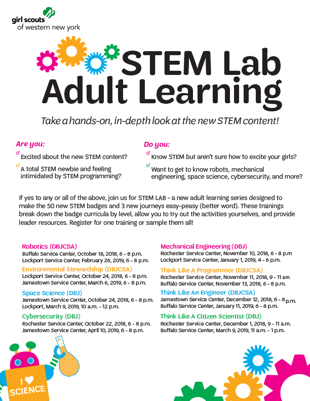 STEM Adult Lab Learning