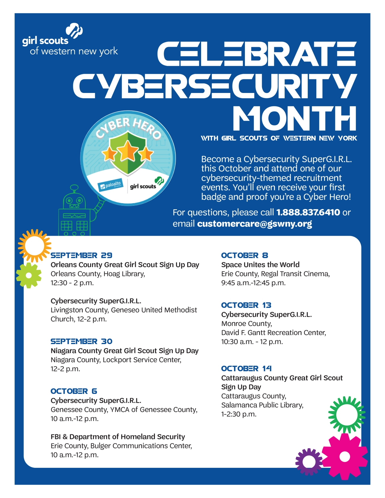 cybersecurity month flyer
