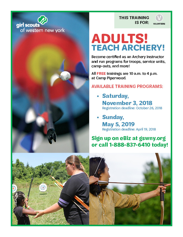 Archery Adult Facilitator Training